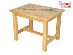 Natural Rectangular Table