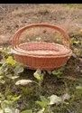 Willow Oval Basket Set with Handel