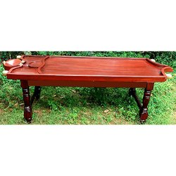 Single Joint Wooden Massage Table