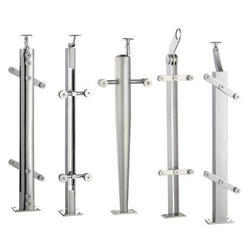 Standard Silver Stainless Steel Balusters