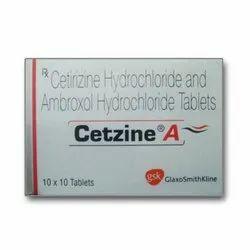 Cetirizine Hydrochloride and Ambroxol Hydrochloride Tablets