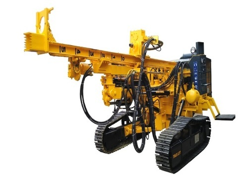 Land Based Drilling Rigs PDTHR-150 Crawler Mounted Drilling Rig, Automatic Grade: Automatic, for Water Well