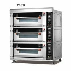 25 Kw Industrial Electric Oven