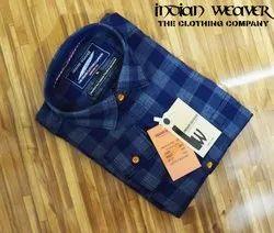 Indian Weaver Checks Men's Shirts