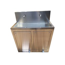 Two Bay Scrub Sink