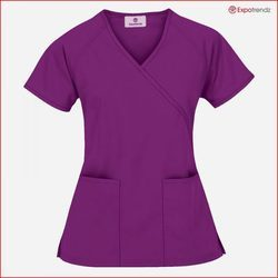 7237c6efe6a Pink And Purple Hospital Scrub Top, Size: Medium And Large, Rs 400 ...