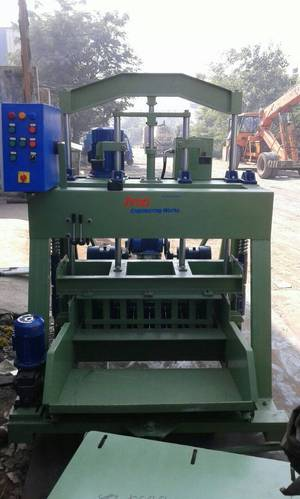 Egg Laying Concrete Block Making Machine 2000 Pcs Per