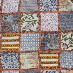 printed patch work jaipuri quilts