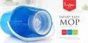 Hand Press Round Single Bucket 360 Microfiber Cleaning Mop