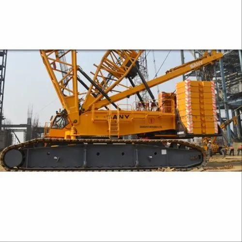 Demag TC 2000 400MT Truck Mounted Cranes With Lattice Boom