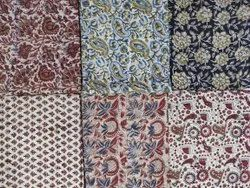 Kalamkari Printed Cotton Suit Material