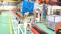 Railway Carline Robotic Spot Welding Automation System