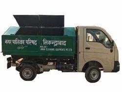 SPEED封闭式垃圾倾卸车,GVW(总重量):0 - 3吨,型号:Tippy2.5