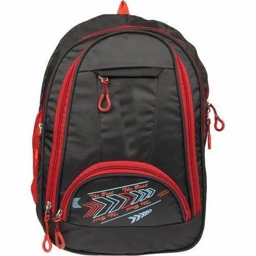 Printed Sports School Bag