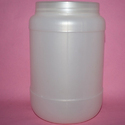 White HDPE Jar