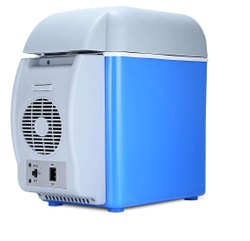 6 L Mini Car Refrigerator Portable Thermoelectric Vehicle Compact Fridge  Travelling Purpose Cooling