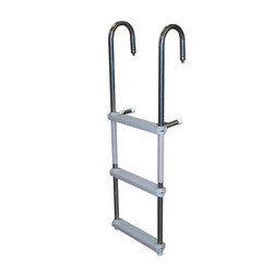 Aluminum HD Straight Pipe Hook Ladder