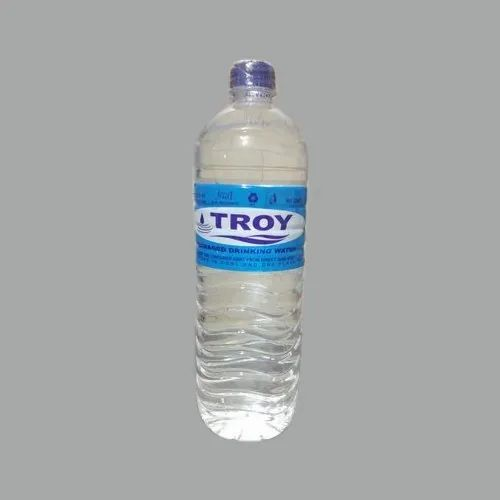 6.5 - 8.5 1 Liter Troy Packaged Mineral Water Bottle, For Drinking, Available Packaging Type: Bottles and also in Box