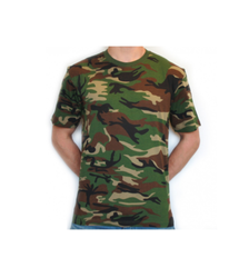 Male Polyester Camouflage T- Shirts