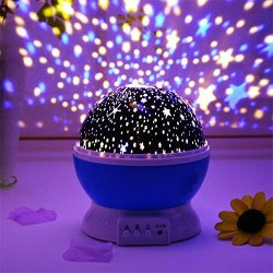 Blue, White Led Star Master Projector Night Lamp