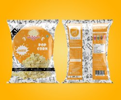Angels Puffycorns - Cheese (Pop corn)
