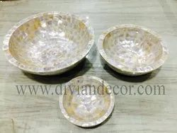 Harmony Mother of Pearl Serving Bowl