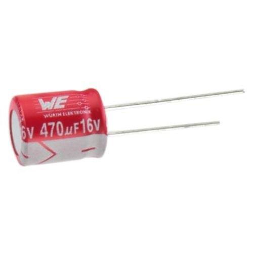 Wurth Elektronik 870235174005 Aluminum Capacitor, Through Hole