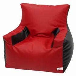 Xl Red, Arm Chair Bean Bag