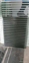 Black Liner Glass Sheet