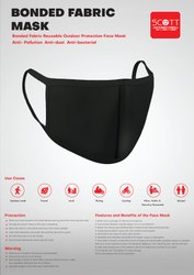 Reusable  Mask bonded Fabric