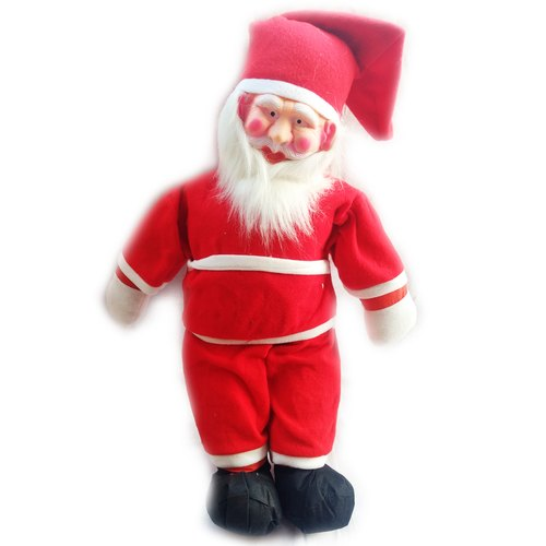 Plastic Red Big Size Santa 105 cm