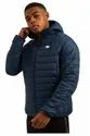 Men's Sports Padded Puffer Hooded Down Jacket, Royal Blue
