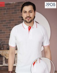 Cotton Men Mafatlal Premium Bio Washed Polo T Shirt