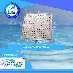 Square SS Drain Cover