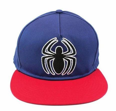 Spiderman Logo Blue Cap d21877d96e6