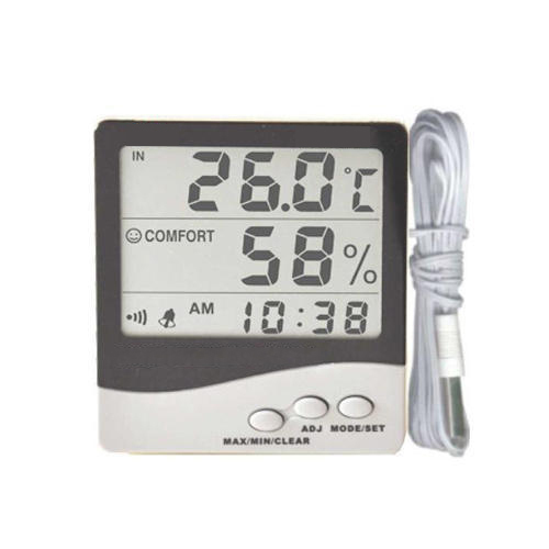 Digital Thermo Hygrometer with Probe at Rs 700/piece   Thermo Hygrometer    ID: 10729342712