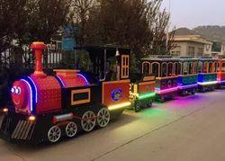 Amusement Park Family Train
