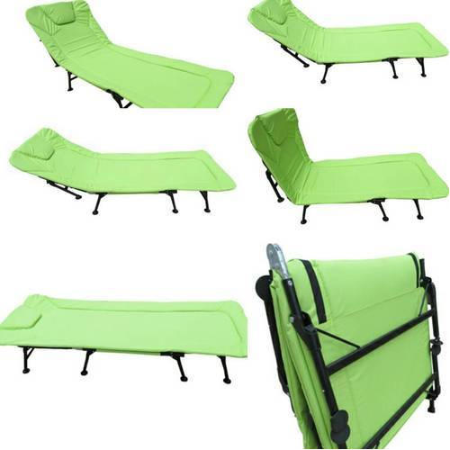 Green Rectangular Foldable Relax Chair, For Outdoor