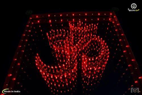 Christmas Led Lights.Om Single Color Led Lights Big 14 Inch Wooden Frame