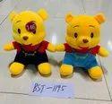 Yellow Plush Pooh Soft Toy, Size/dimension: 35 Centimetres, 250 Gm