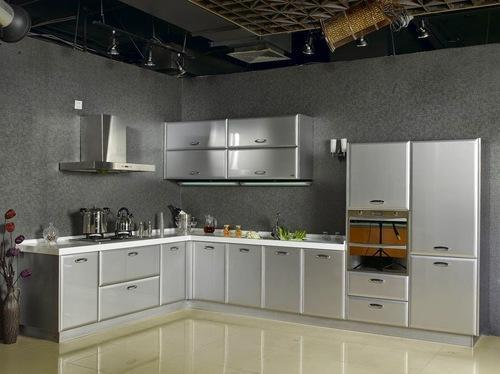 Residential Stainless Steel Modular Kitchen, Warranty: 1-2 Years