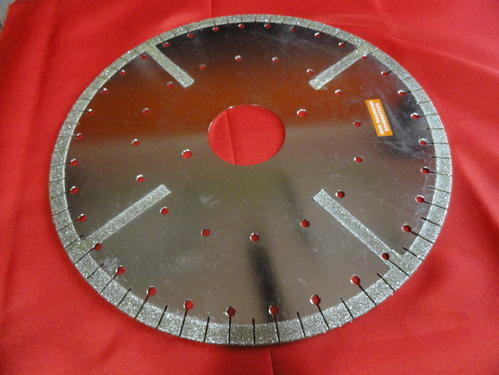 Electroplated Diamond Cutting Wheel
