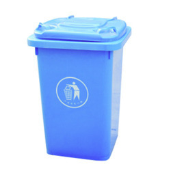 Industrial Hardened Plastic Garbage Trolley