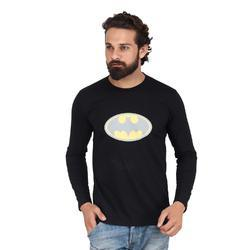 Akaas Cotton Black Full Sleeve T Shirt