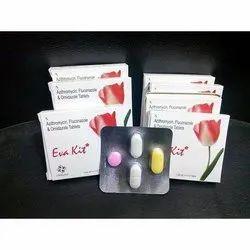 Azithromycin, Fluconazole and Ornidazole Tablets Eva Kit