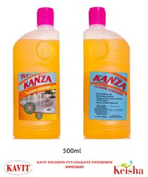 KANZA Silver Nano Technology Disinfectant Floor Cleaner, Packaging Type: Bottle