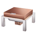 Grand Hydraulic Rose Gold Square Chafer