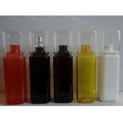 150 ML Square PET Perfume Bottle