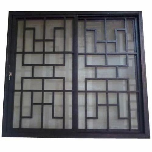 Window grill modular house window grill design india for Window design ms