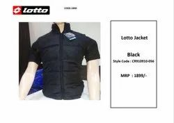 Men Henly Lotto Black Sleeveless Jacket CR910910-056